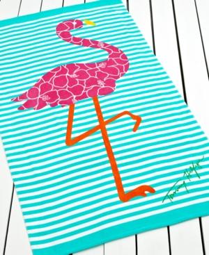 Tommy Hilfiger Towels, Flamingo Beach Towel