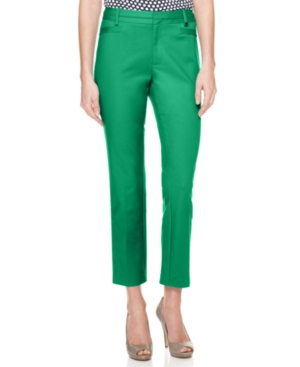Calvin Klein Pants, Straight Leg Cropped
