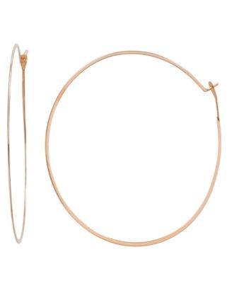 Michael Kors Thin Hoop Earrings Fashion Jewelry Jewelry