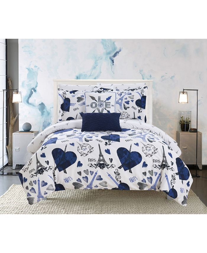 Chic Home - Le Marias 9-Pc. Bed In a Bag Comforter Sets