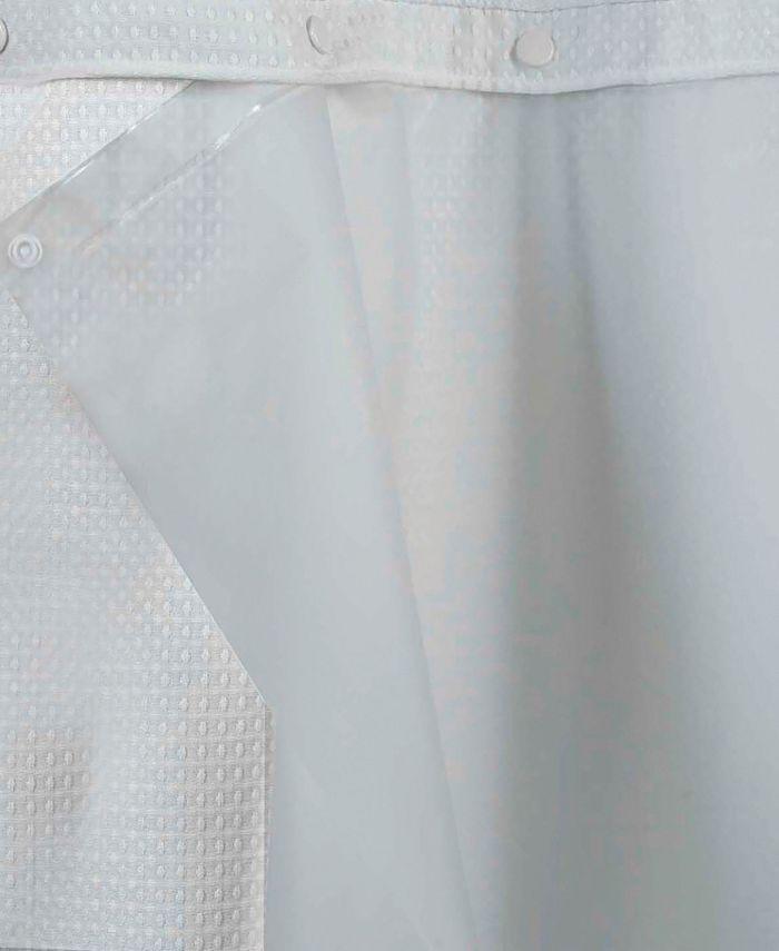 Hookless - Peva Snap Shower Curtain Liner