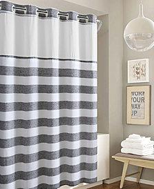 Hookless Yarndye Stripe 3-in-1 Shower Curtain