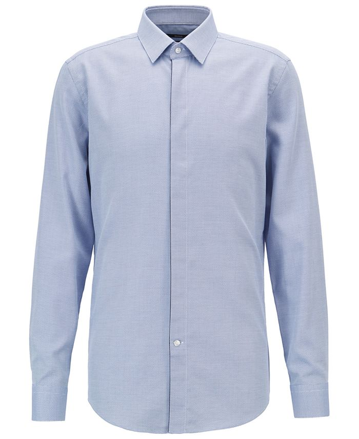 Hugo Boss - Men's Slim Fit Cotton Shirt