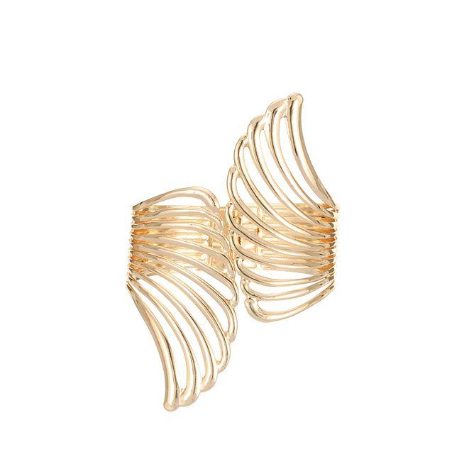 Nina Cut Out Wing Hinge Bracelet