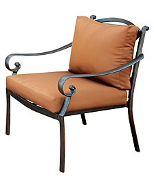 Furniture of America Camille Modern Patio Chair