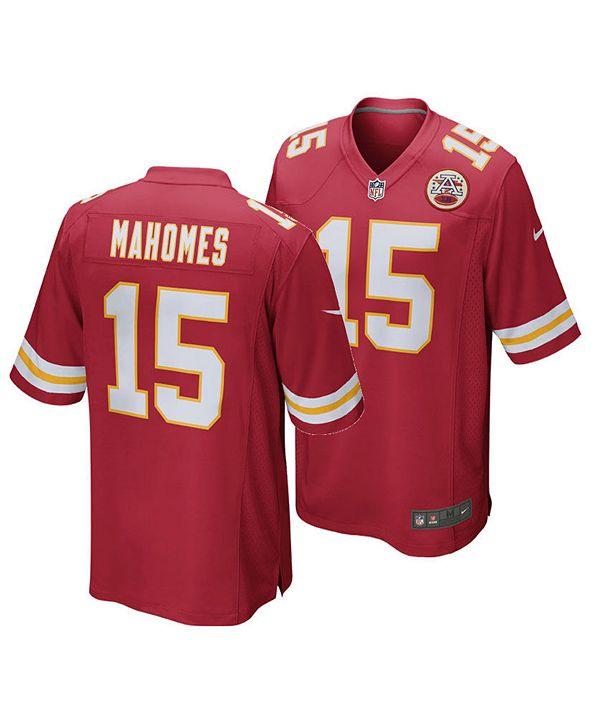 Nike Pat Mahomes Kansas City Chiefs Game Jersey, Toddler Boys (2T-4T)