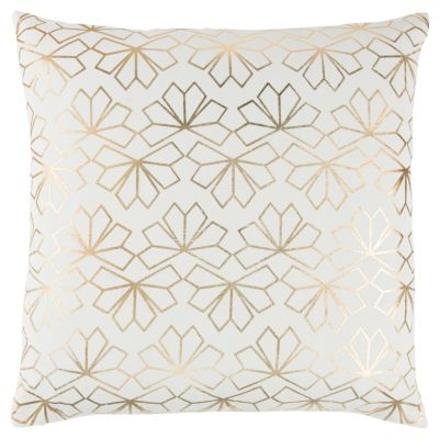 "20"" x 20"" Geometrical Design Pillow Cover"