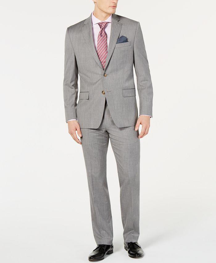 Lauren Ralph Lauren - Men's Stripe UltraFlex Classic-Fit Suit Separates