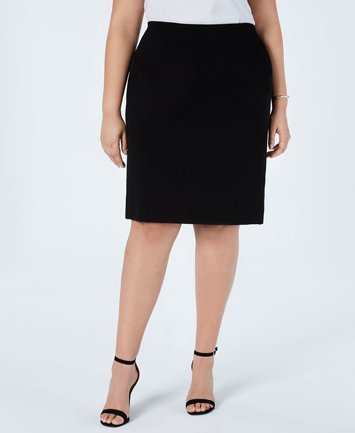 Vince Camuto - Plus Size Pull-On Pencil Skirt