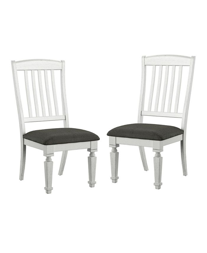 Furniture of America - Cassie Side Chair (Set Of 2), Quick Ship