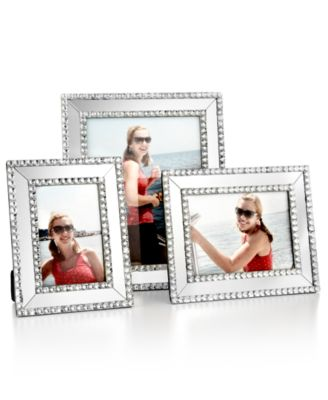 "Mirrored Sparkle 5"" x 7"" Picture Frame"