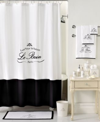 Kassatex Bath Accessories  Le Bain Shower Curtain. Kassatex Bath Accessories  Le Bain Shower Curtain   Bathroom