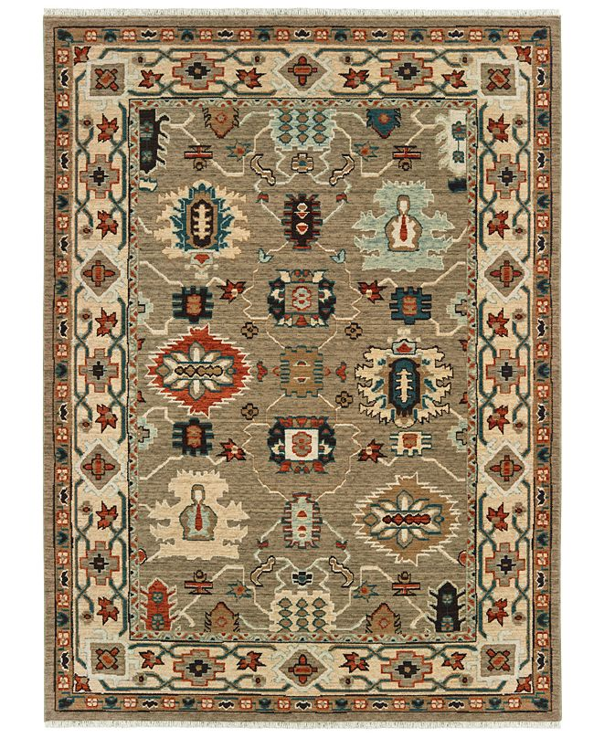 "Oriental Weavers Anatolia 530U3 Tan/Ivory 2'3"" x 10' Runner Area Rug"