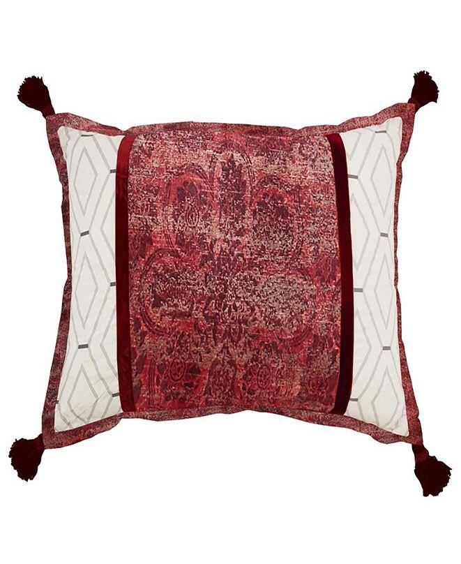 Waverly Fresco Flourish Pieced Decorative Accessory Pillow