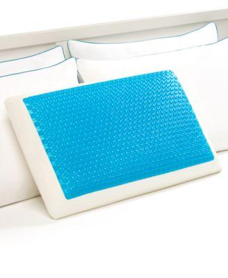 Comfort Revolution Cool Comfort Hydraluxe Gel & Memory Foam Standard Pillow
