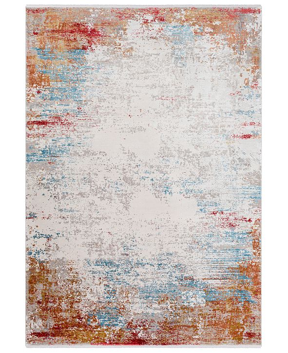 Surya Solar SOR-2303 Burnt Orange 2' x 3' Area Rug