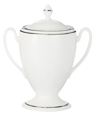 Waterford Kilbarry Platinum Covered Sugar Bowl