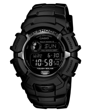 G-Shock Men's Digital Black Resin Strap Watch 53x46mm GW2310FB-1