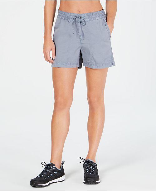 Giorno dei bambini Fare affidamento su Vita  Columbia Drawstring Shorts & Reviews - Shorts - Women - Macy's
