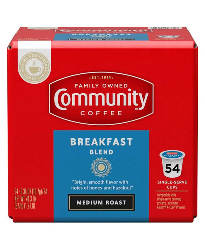 Community Coffee - 54 CT SS CUPS BRKFST