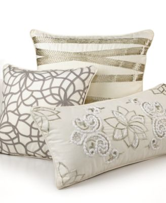 ivory decorative pillows decorative pillows bed bath macy 39 s