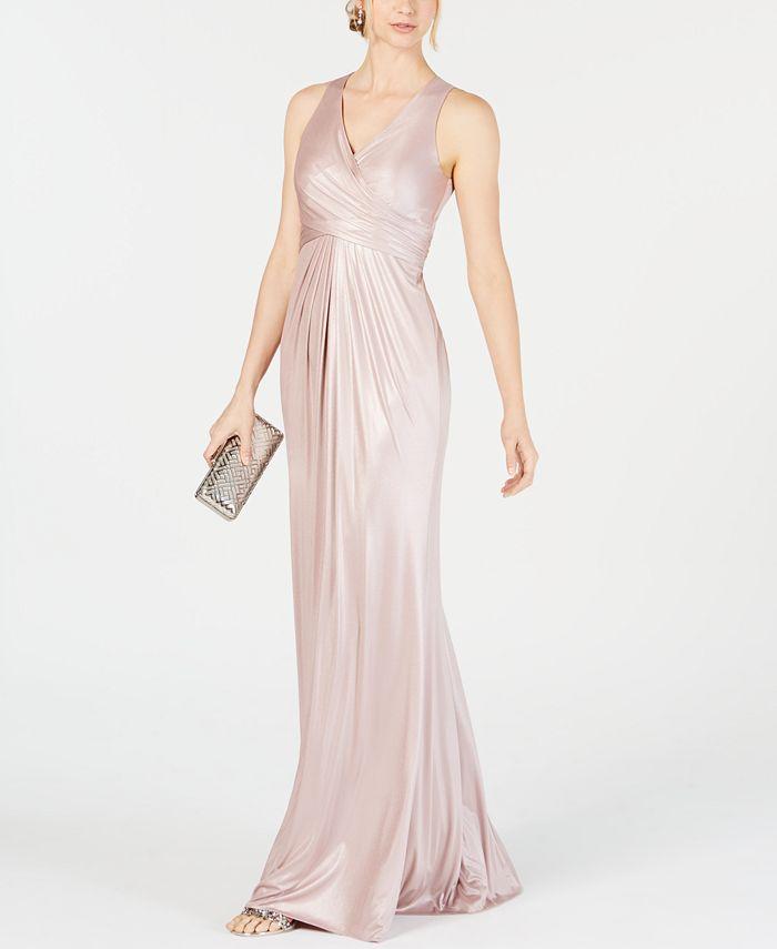 Adrianna Papell - Metallic Mermaid Gown