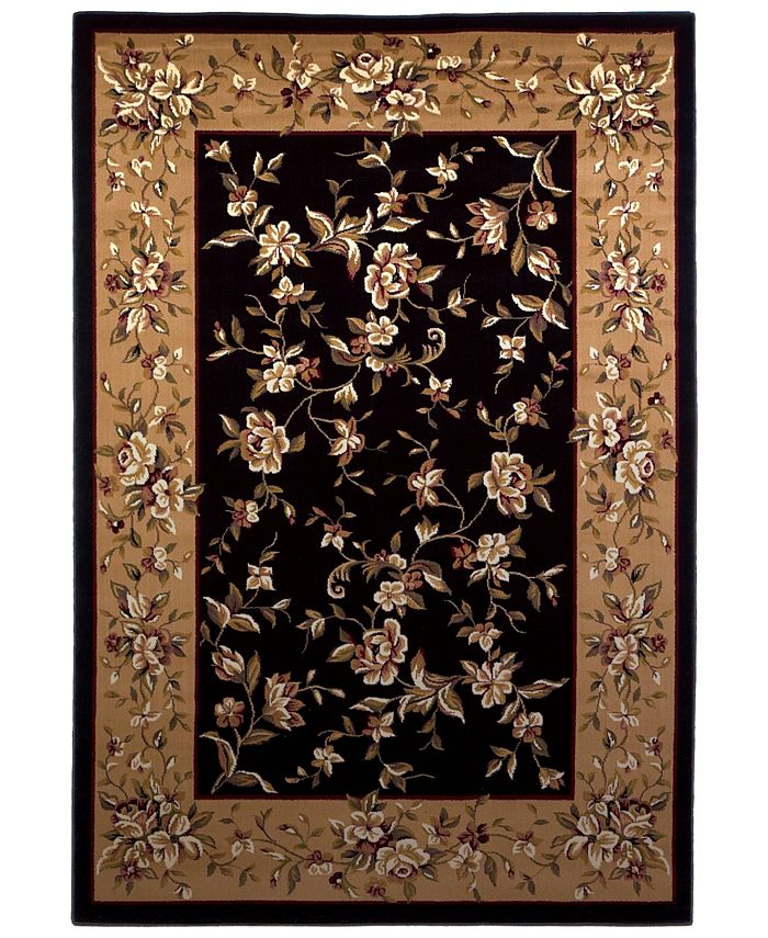 "Kas - Cambridge Floral Delight 3'3"" x 4'11"" Area Rug"