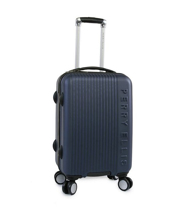 "Perry Ellis Forte 21"" Spinner Luggage"