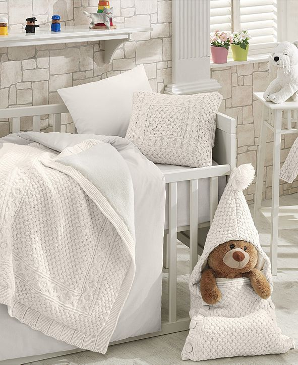 Nipperland Nature Premium 7 Piece Crib Bedding Set