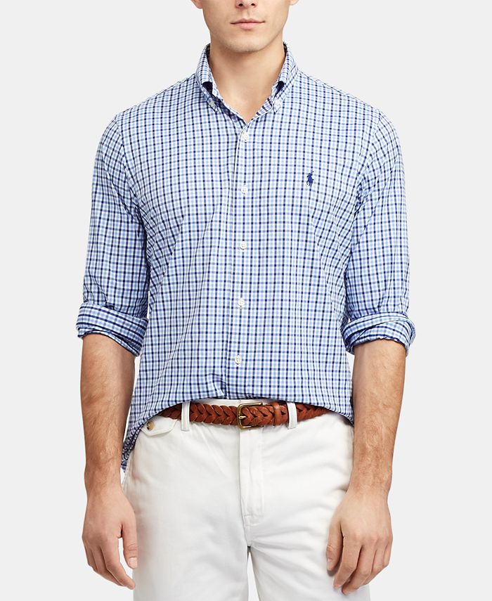Polo Ralph Lauren Men's Classic-Fit Performance Shirt & Reviews ...