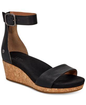 UGG® Women's Zoe II Wedge Sandals