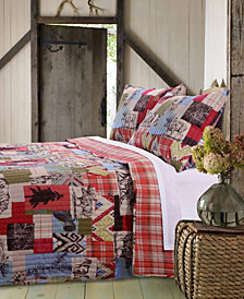 Rustic Lodge Quilt Set, 2-Piece Twin