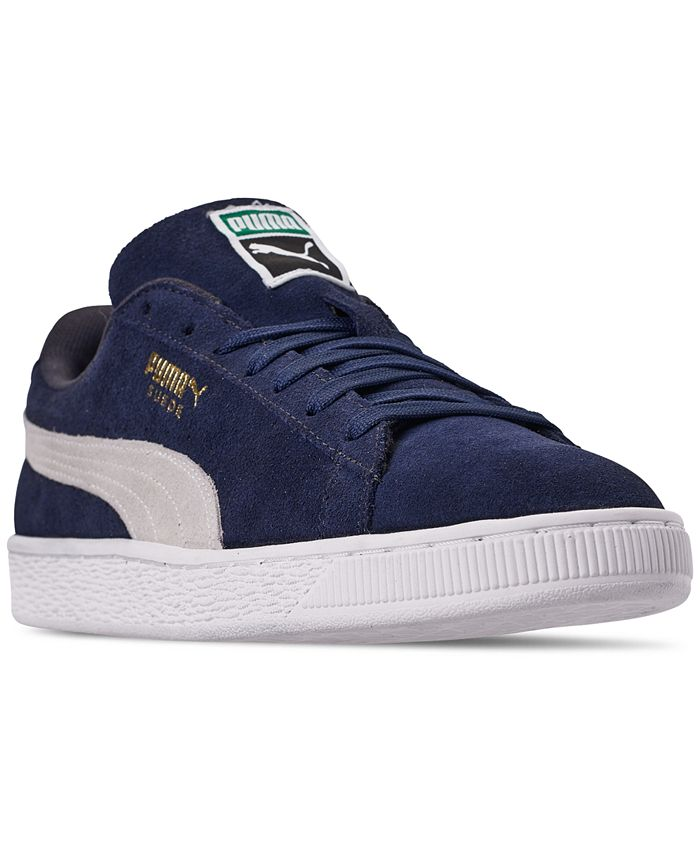 Puma - Men's Suede Classic+ Sneakers from Finish Line