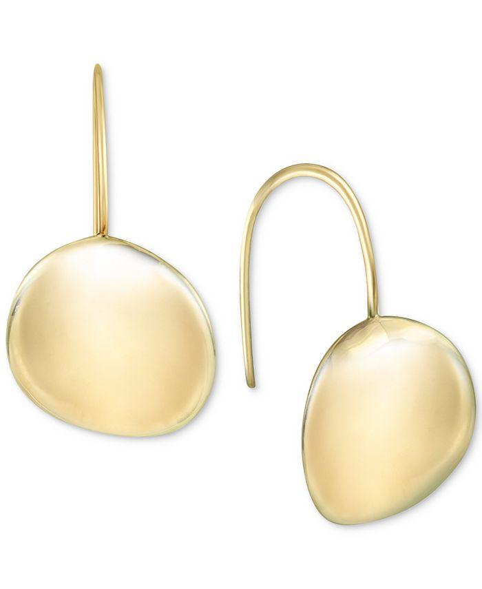 Argento Vivo - Polished Disc Drop Earrings