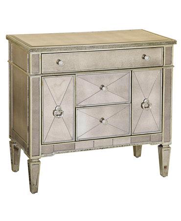 marais chest mirrored accent chest furniture macy 39 s