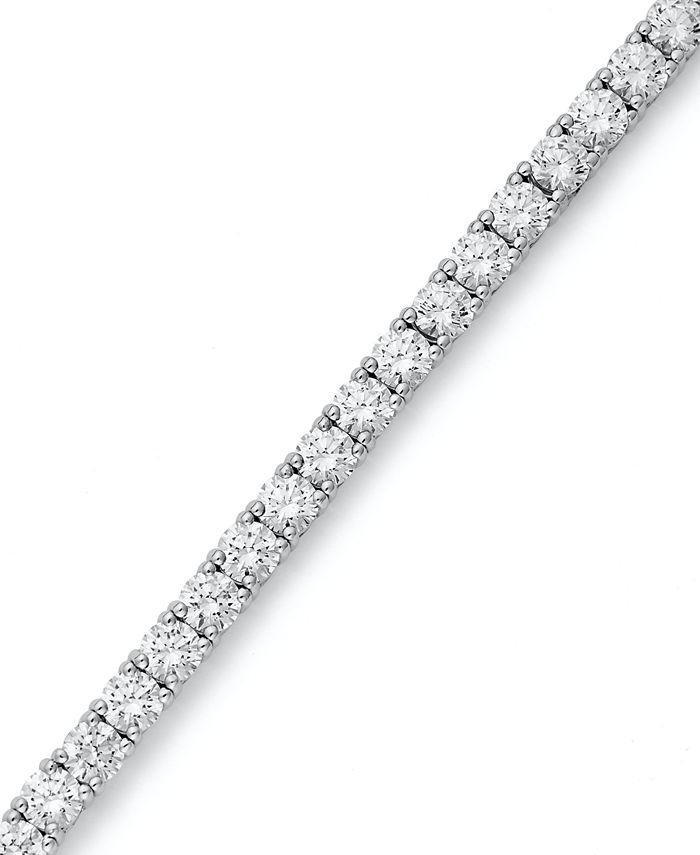 Arabella - Sterling Silver Bracelet, Swarovski Zirconia Tennis Bracelet (20-1/4 ct. t.w.)