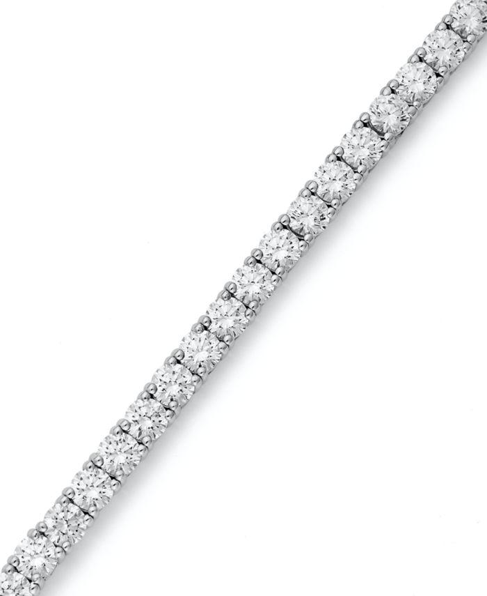 Arabella Sterling Silver Bracelet, Swarovski Zirconia Tennis Bracelet (20-1/4 ct. t.w.) & Reviews - Bracelets - Jewelry & Watches - Macy's