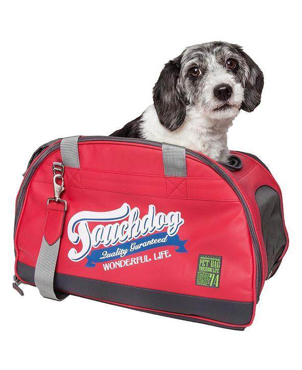 Pet Life Touchdog Original Wick Guard Water Resistant Fashion Pet Carrier
