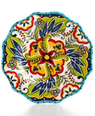Espana Bocca Scalloped Salad Plate