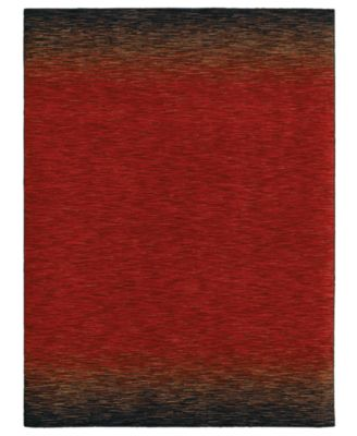 Shaw Living Rugs, American Abstracts Collection 29800 Andalusia Red