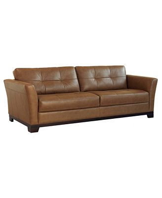 martino leather sofa furniture macy s