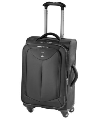 "Travelpro Suitcase, 21"" WalkAbout Spinner Expandable Upright Carry On"