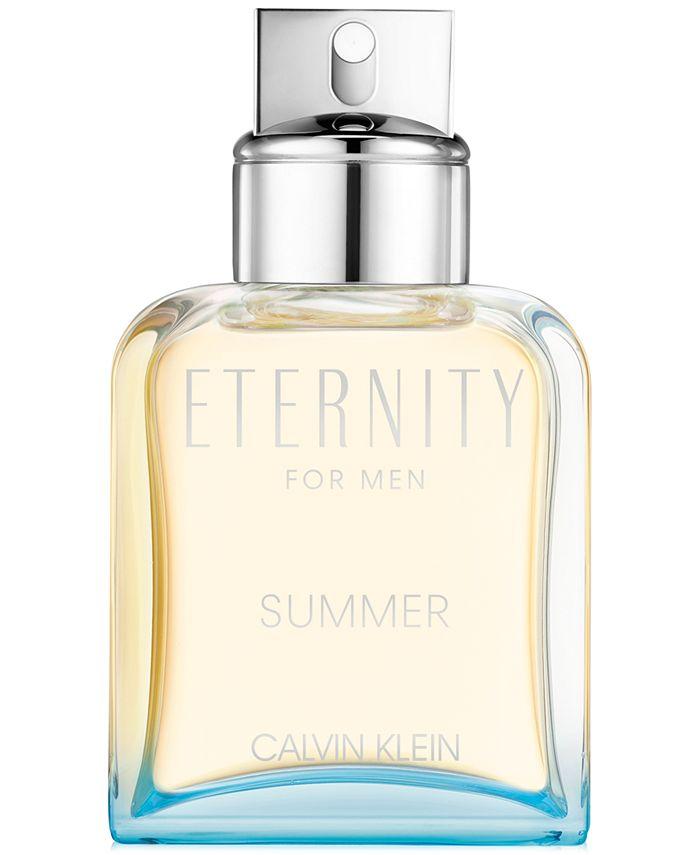 Calvin Klein - Men's Eternity Summer Limited Edition Eau de Toilette, 3.3-oz.