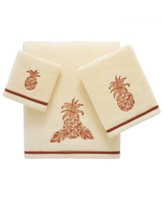 Tommy Bahama Batik Pineapple Fingertip Towel