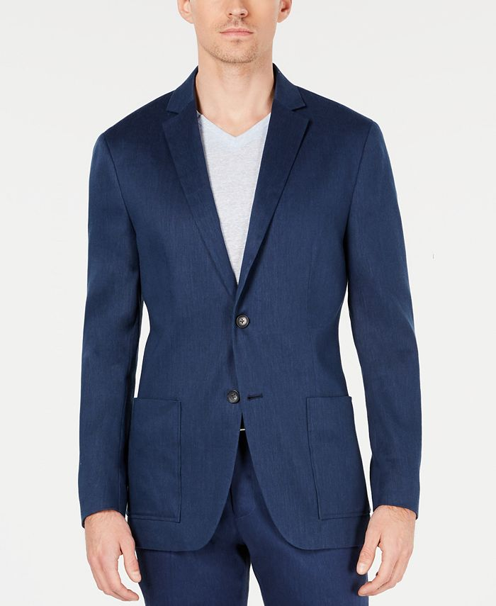 Alfani - Men's Classic-Fit Stretch Solid Sport Coat