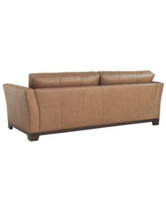Martino Leather Sofa Furniture Macy 39 S