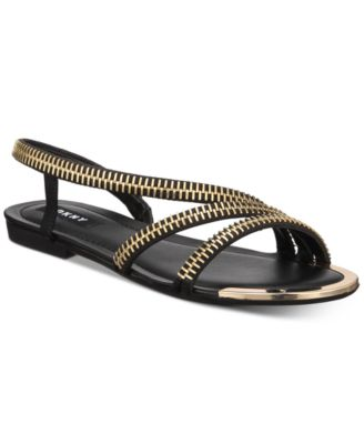 DKNY Khloi Flat Sandals, Created for