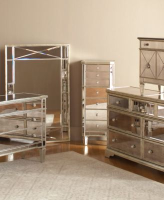 Samantha Bedroom Furniture 3Pc Bedroom Set Queen Bed Dresser