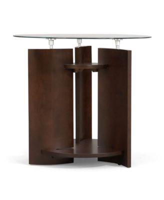 Solar End Table