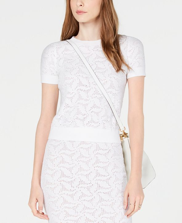 Michael Kors Mesh Sweater, Created for Macy's